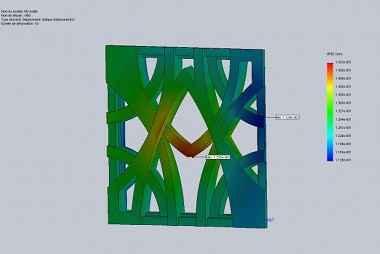 Conception calculs par elements finis Pirus composites